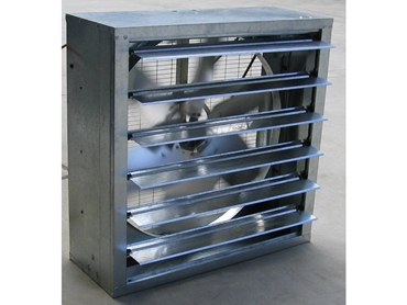 Industrial gal louvered fan