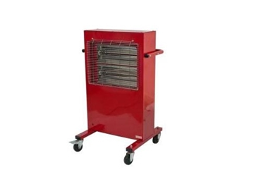 Electric portable radiant heater