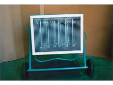 Fanquip mobile electric heater fan