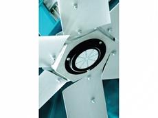 Giant 6-blade fan