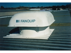 Fanquip roof fan extracting welding fume