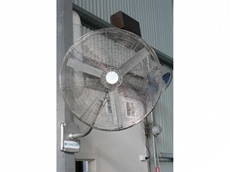 Industrial Air circulators for Industrial work spaces