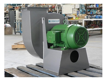 Centrifugal Fans for the moving of air and other gases