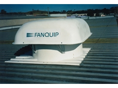 Fanquip hooded roof fans with profile base are being used in council and transport depots