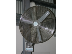 Fanquip's IP56 stainless steel fan