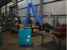Fanquip's mobile welding fume extractor