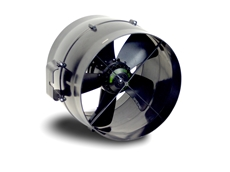 the Minitube series of duct-mounted axial fans