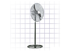Pedestal stand mounted fans