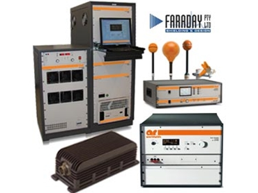 Military grade RF Microwave Instrumentation, Receiver Systems and Modular RF from Faraday