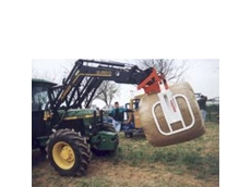 Altec Wrapped Bale Grabs by Farmtech