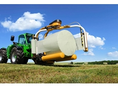 1320 series round bale wrappers can process bales weighing up to 1,000 kilograms