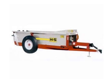 High performance Manure Spreaders with even and wider output