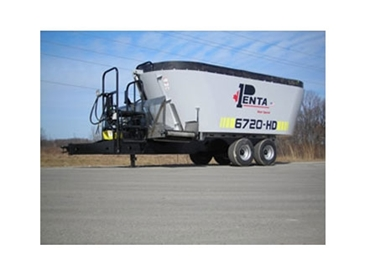 PENTA 6720 HD Twin Screw Trailer with walking tandems