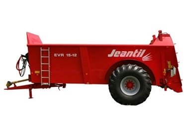 High performance EPAN 5 Jeantil Manure Spreaders distribute a variety of manures and composts evenly
