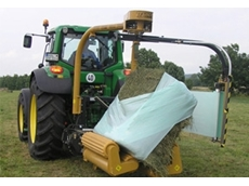 Square Bale Wrapper - 1530EH Mounted