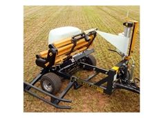 Square Bale Wrapper - 404 EH Trailed