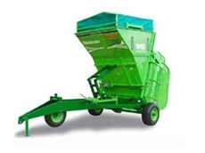 These grain baggers offer an environmentally friendly alternative to bagging and storing grain