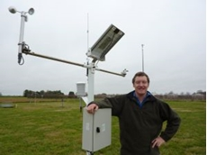 DPI researcher Mark O'Connell says that satellite imagery can be used as a revolutionary water management  tool