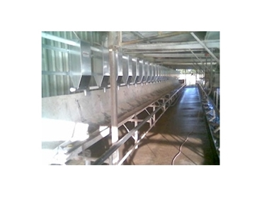 Feeders can be easily extended should the Dairy undergo renovations