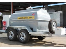This 3000 litre capacity diesel fuel tanker, with Honda fuel pump was custom designed to suit the requirements of Main Roads