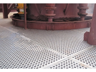 RetroTREAD is a flexible flooring solution for dropped object safety