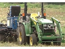 A robotic tractor and seeding machine with a high degree of planting accuracy will improve agricultural productivity for farmers.