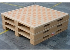 PACKSPEC's paperboard pallets are made from 100% recycled cardboard, and weigh only 6.5kg