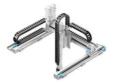 2D and 3D multi-axis handling systems available from Festo