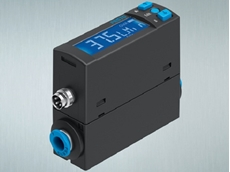 Compact flow sensors for monitoring compressed air use