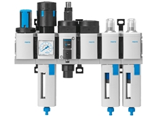Complete concepts for compressed air preparation with the MS series from Festo