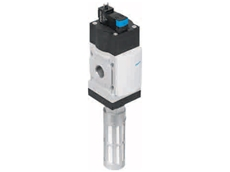 Festo soft start/quick exhaust valves for gentle, powerful compressed air preparation
