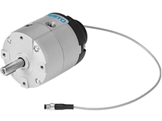 New lightweight and economical rotary actuator and sensor from Festo can be installed in seconds