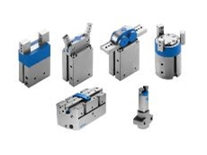 Standard gripper, precision parallel gripper and micro-gripper.