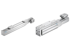 Festo's linear axis ELGC (left) and mini slide EGSC