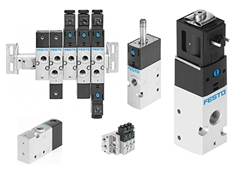 Sturdy and functional valves from Festo for everyday use