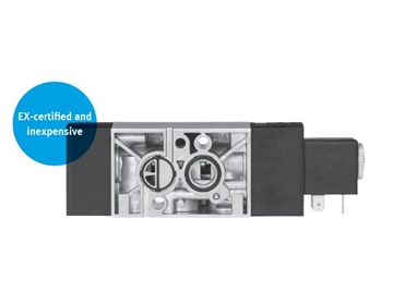 The new standard VSNC NAMUR valve is versatile, inexpensive and safe.