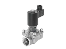 VZWF series force pilot operated solenoid valves available from Festo