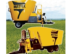 Radon Matrix Family vertical feed mixers available from Fieldquip