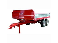 Heavy Duty Hydraulic Tip Trailers from FieldQuip