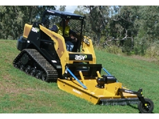 Hydracut S-series skid steer single rotor slashers