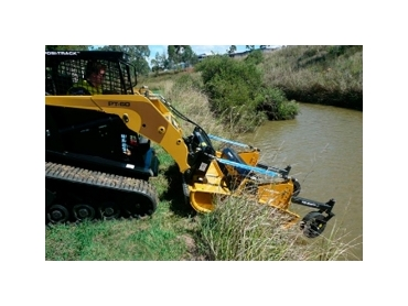 T-Series Skid Steer Slashers for heavy duty applications