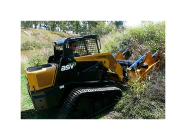 Skid Steer Twin Rotor Slashers for built for slashing roadsides and tough acreage
