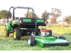 Towed Mowers For Precision Cutting from FieldQuip