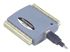 Measurement Computing's USB-1208 Series bus-powered USB device