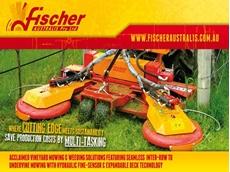 Fischer GL4 & GL5, Vineyard and Orchard Mowers from  Fischer Australis