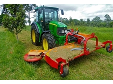 Fischer SL Undertree Orchard Mower (OPTI Belt Powered) by Fischer Australis