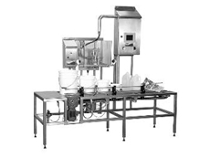Flex Pack supplies high-speed automatic liquid filling system model 450-01
