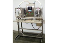 Liquid Filling Systems - Semi Automatic Twin Head Bag Filler Series #310