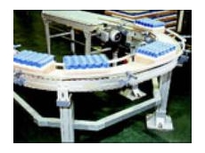 Aluminium Plastic Chain Conveyor System