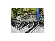 The interroll light roller conveyor